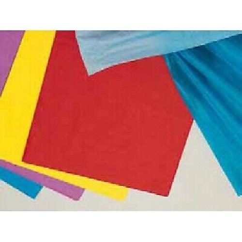 pochette de 5 feuilles de papier de soie 20 g / feuille - 50 x 70 cm - rose layette