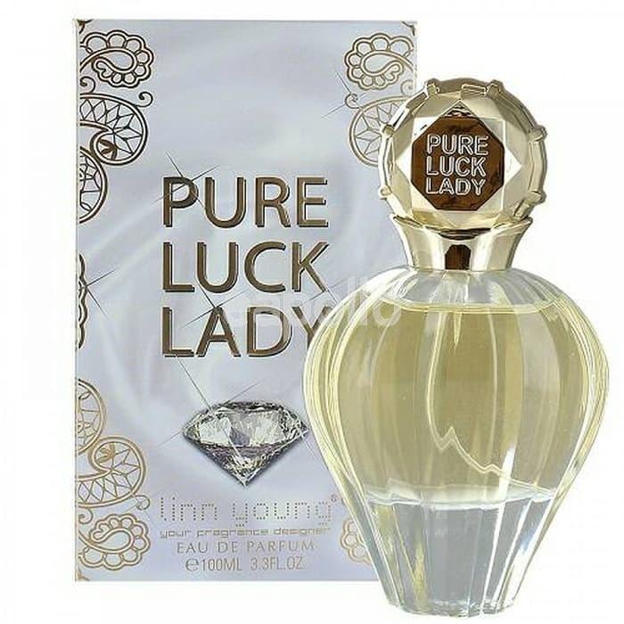 eau de parfum générique 100 ml pour femme pure luck lady linn young