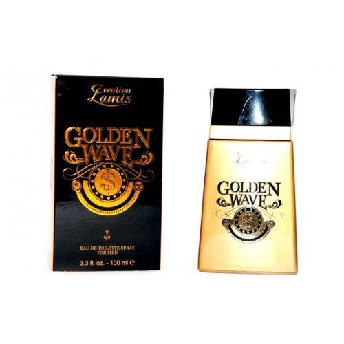 Parfum generique homme parfum Lamis golden wave