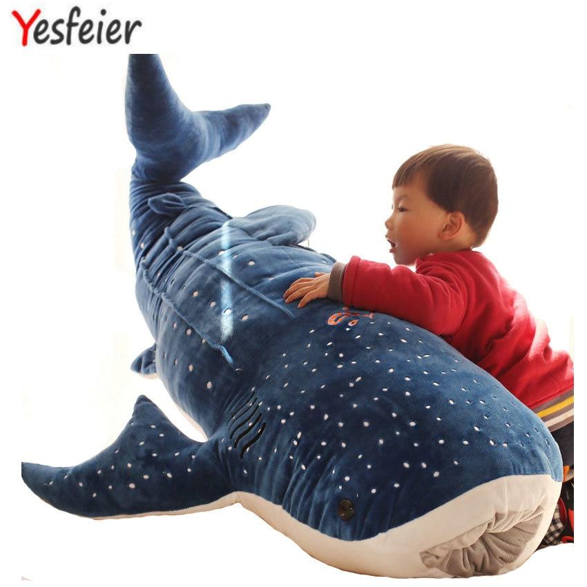 peluche baleine 50-100 cm YESFEIER divers coloris et tailles