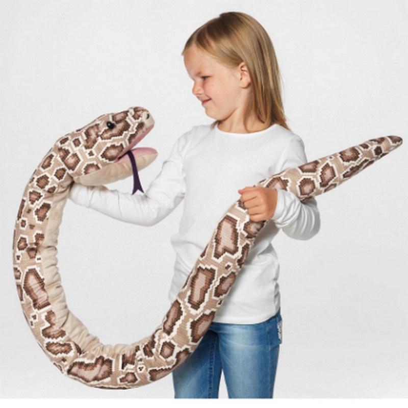 peluche serpent 155 cm YESFEIER