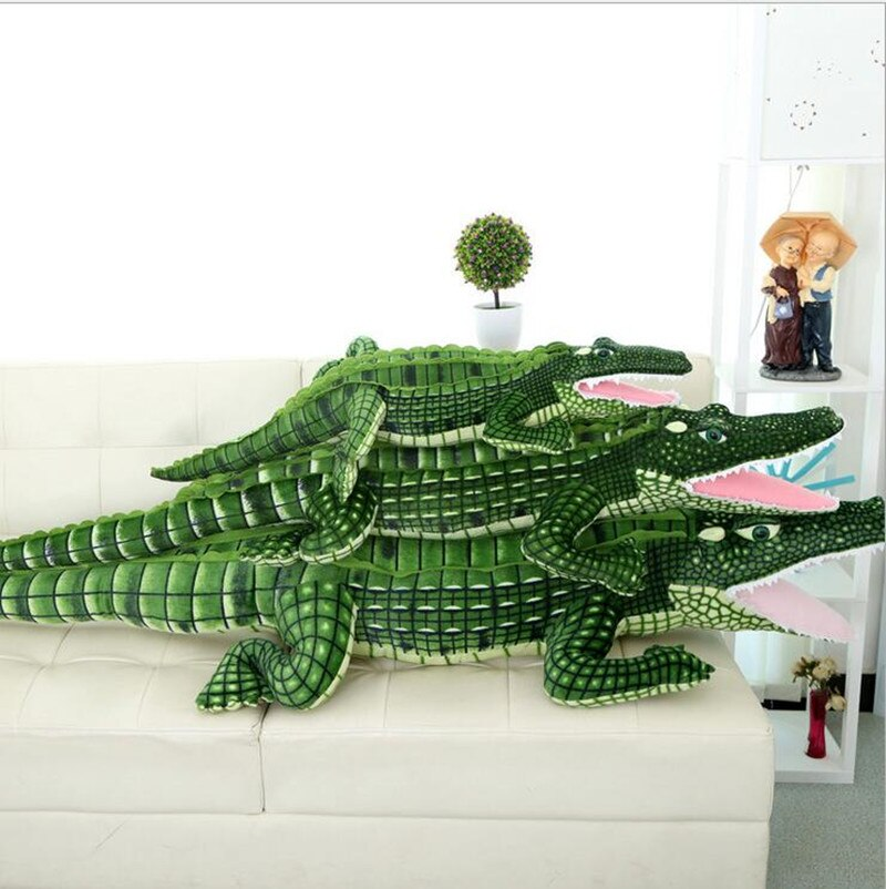 Peluche crocodile 100 cm NPK COLLECTION