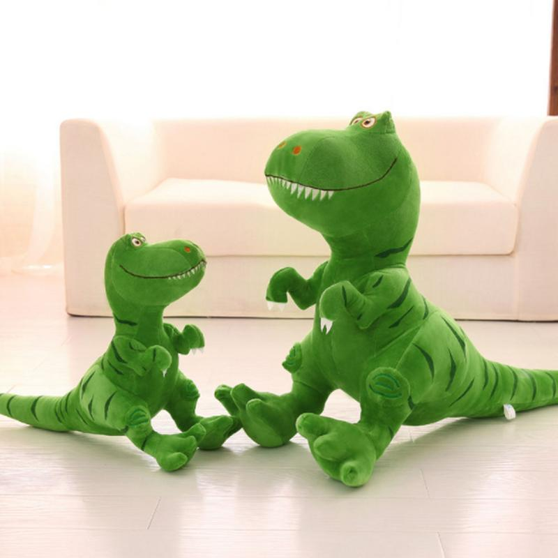 Peluche dinosaure peluche dinosaure géante vert 50-80 cm Minocool