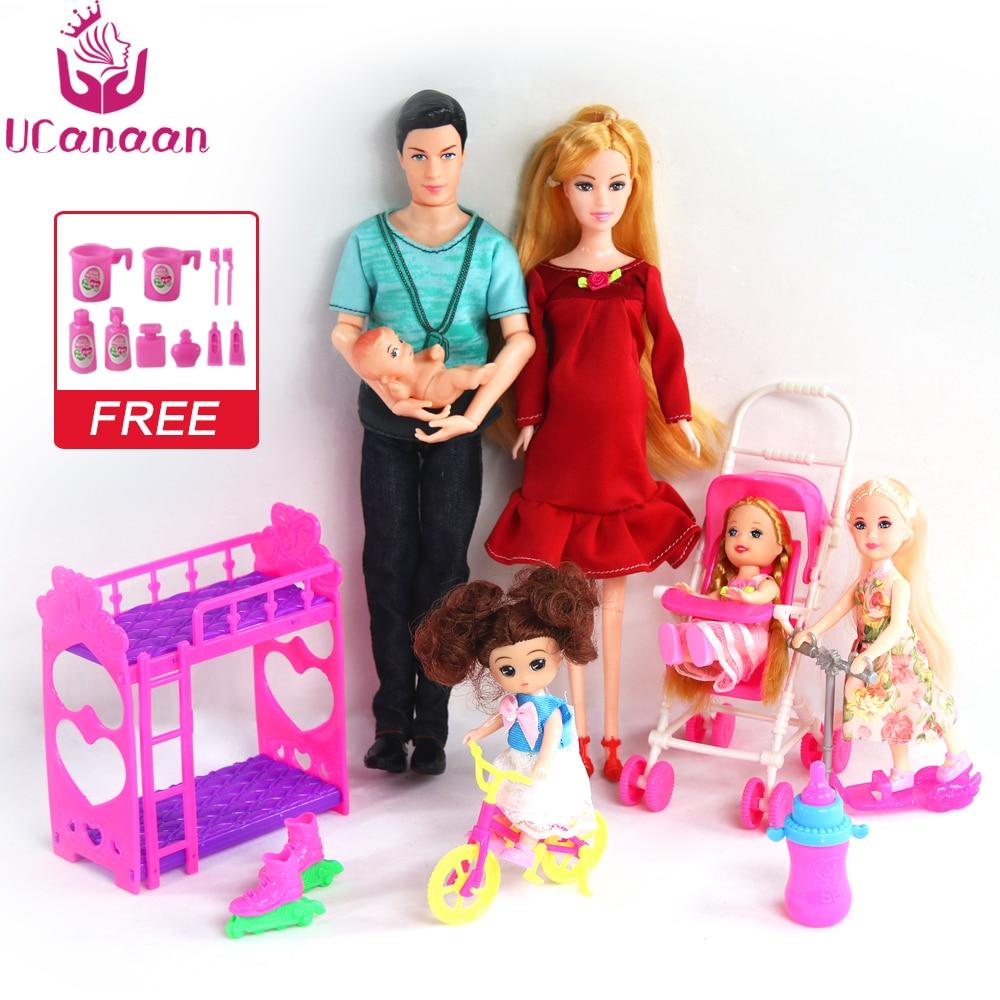 lot poupee et accessoires ucanaan pour barbie divers modèles