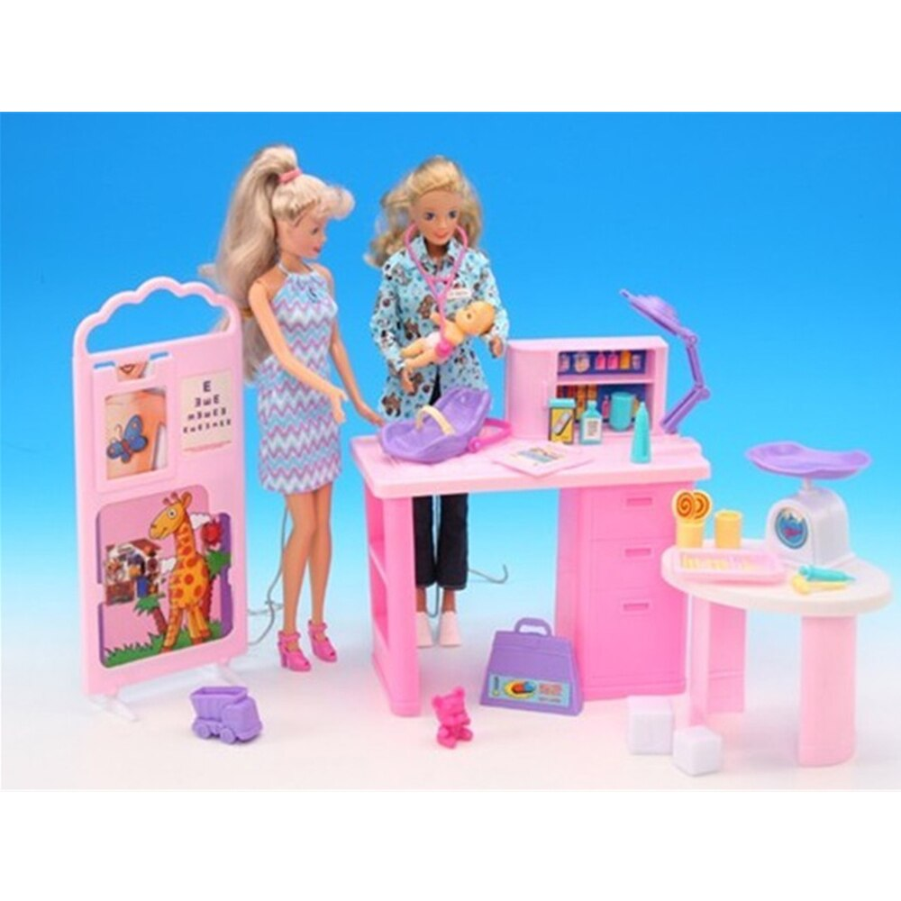 Barbie pediatre barbie docteur pediatre
