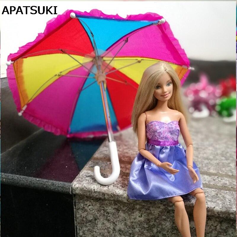 parasol pour barbie uni ou à motifs