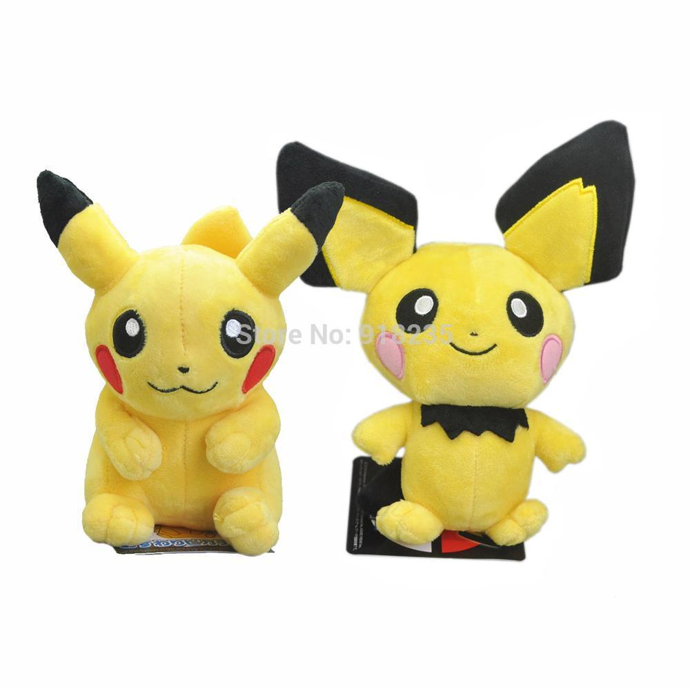 peluche pikachu au choix 18 cm EONFUN