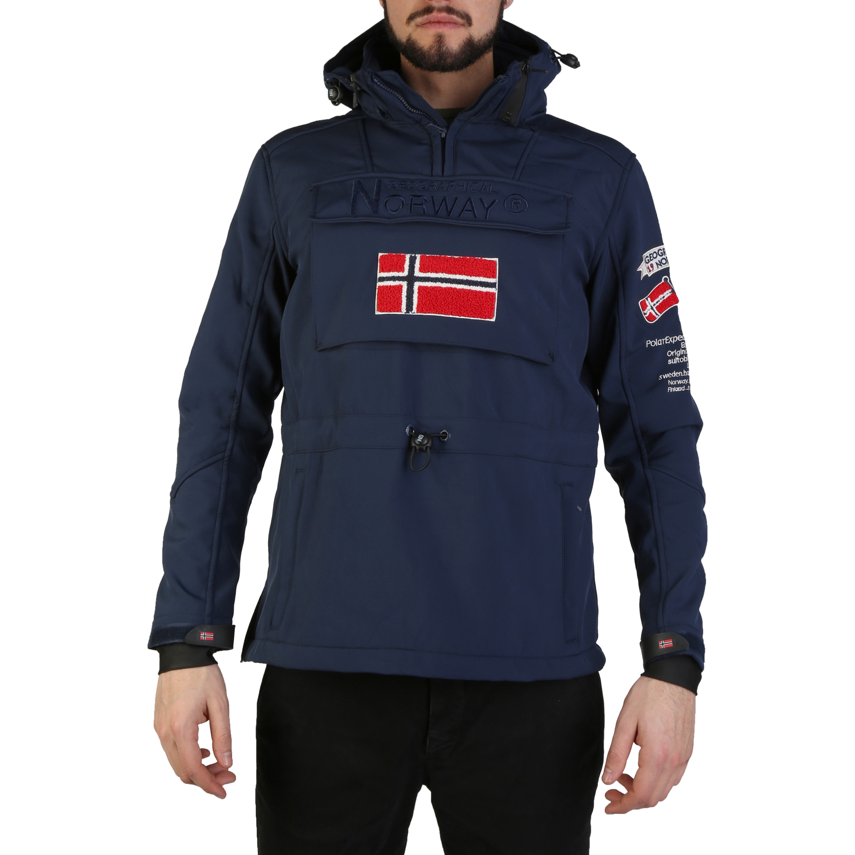 veste target man geographical norway navy