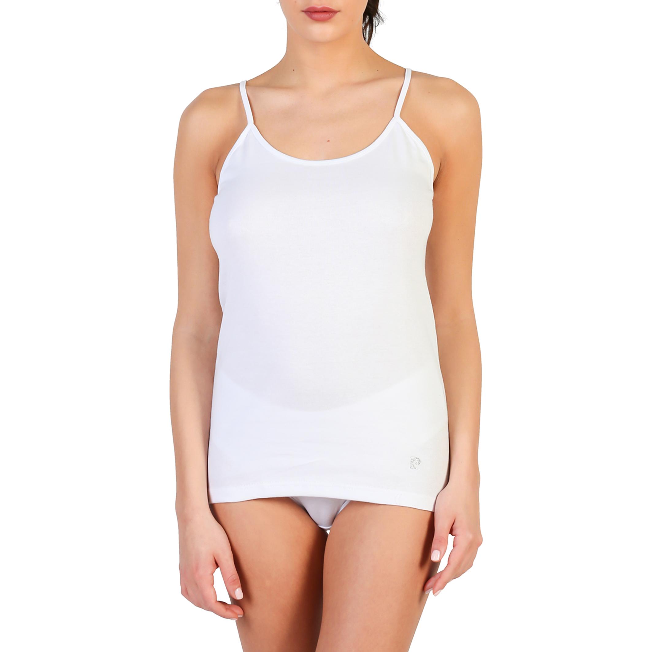 débardeur femme pierre cardin underwear PC_CARMEN_BIANCO