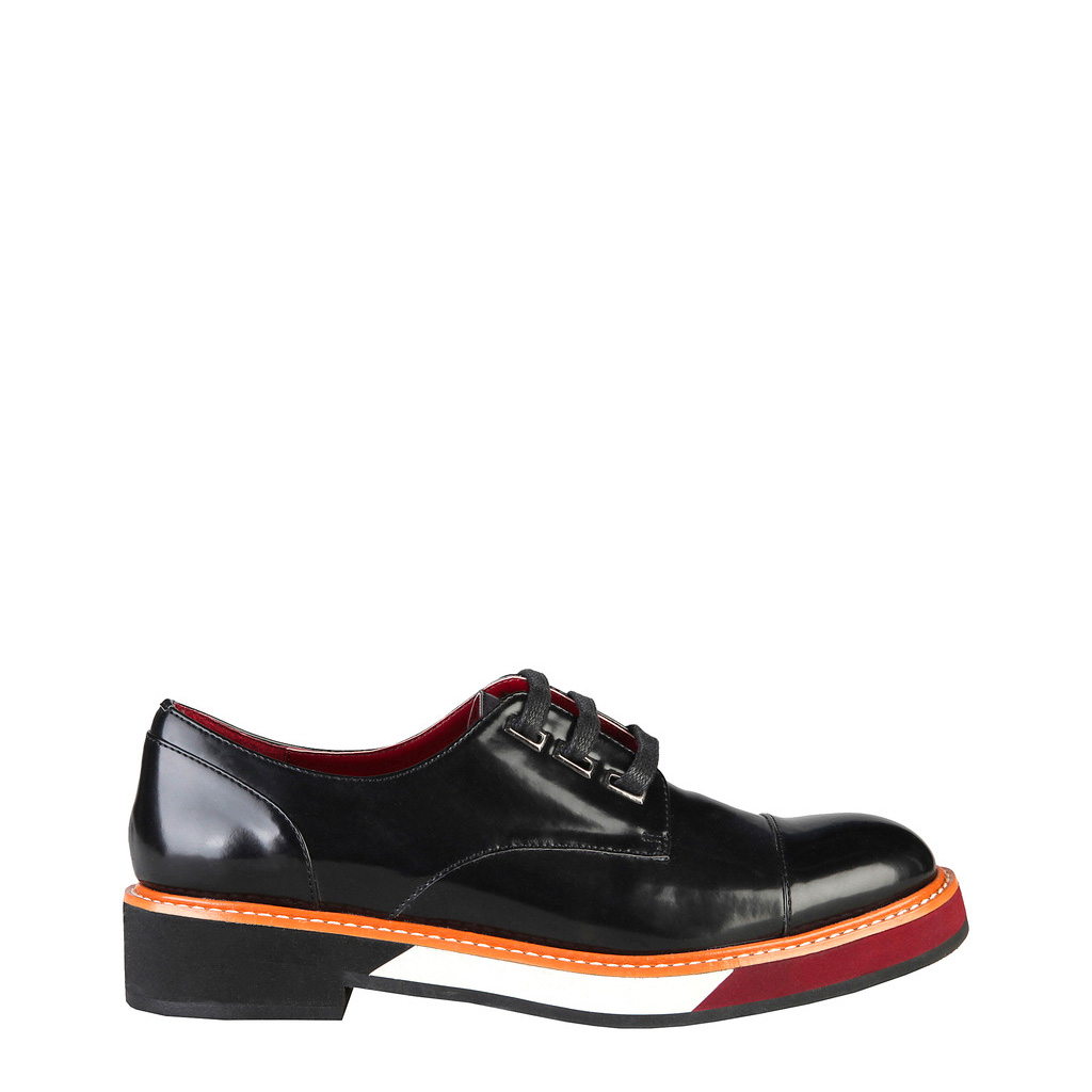 chaussures a lacets ana lublin CATHARINA_NERO