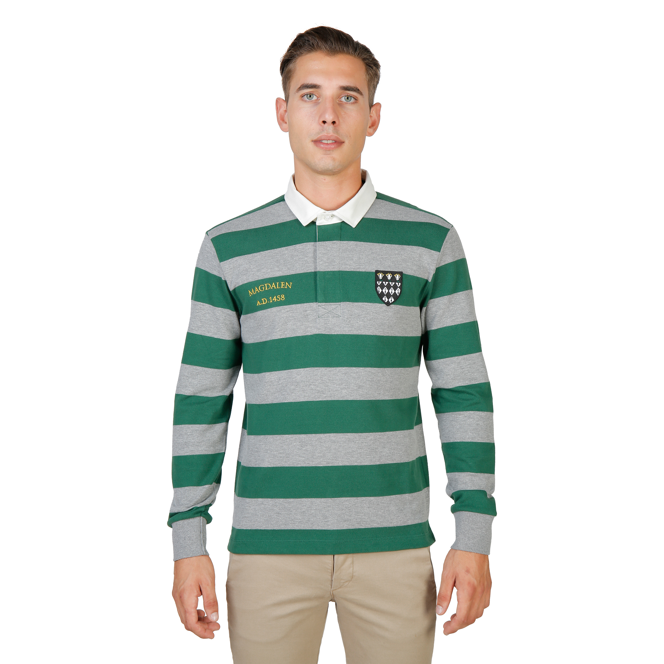 polo Oxford University MAGDALEN-RUGBY-ML-GREEN