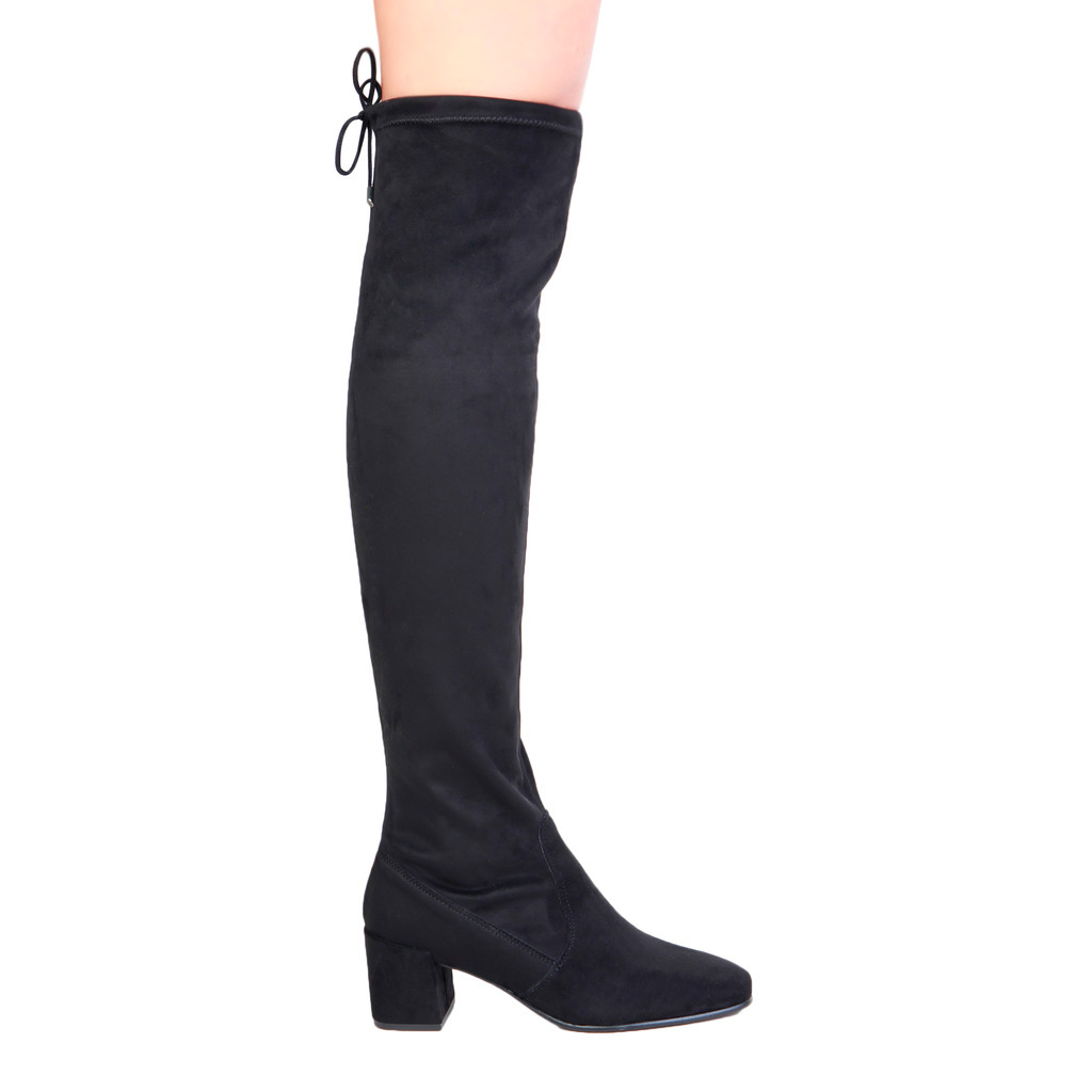 bottes pour femme jambale fontana 2.0 SELLY_NERO