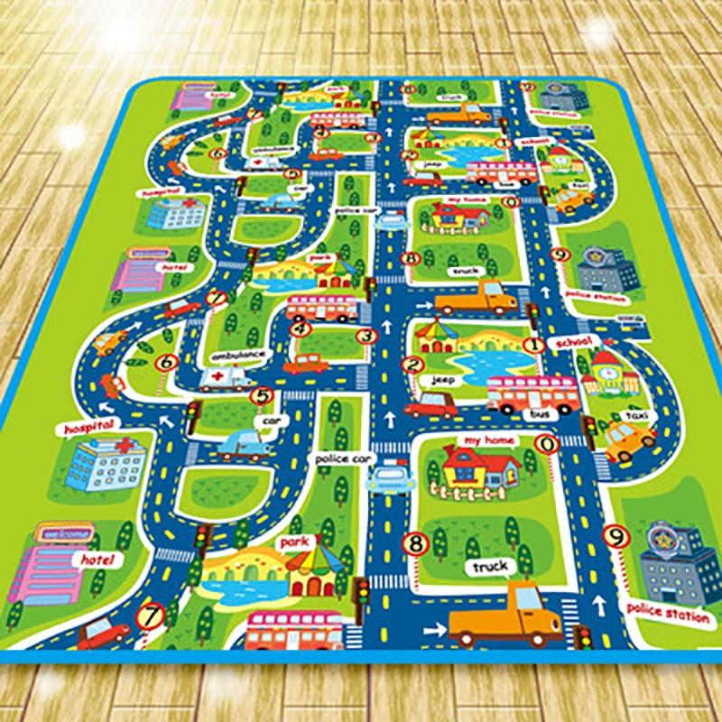 tapis circuit de ville IMIWEI 2 tailles au choix