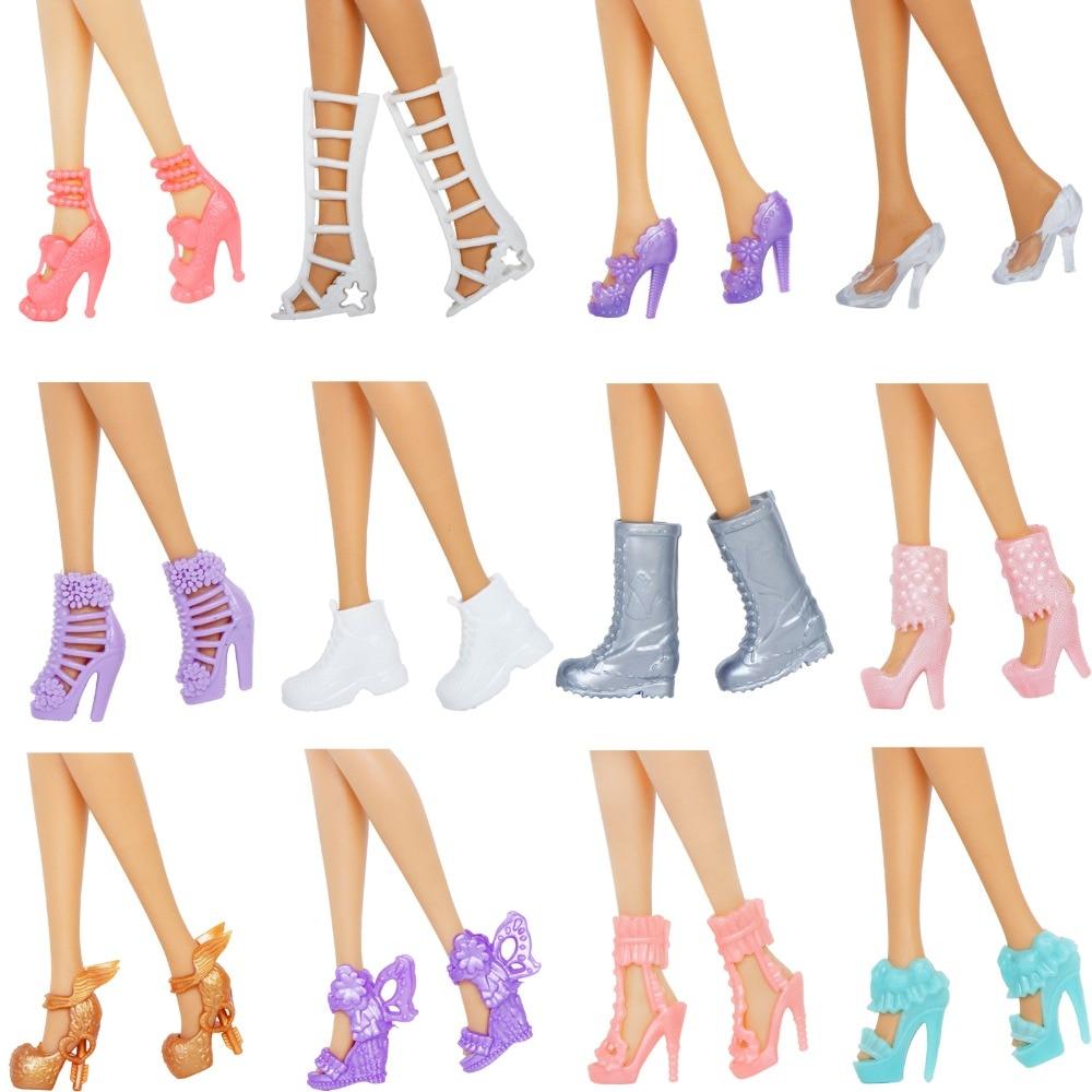 lot 12 paires de chaussure pour barbie BJDBUS