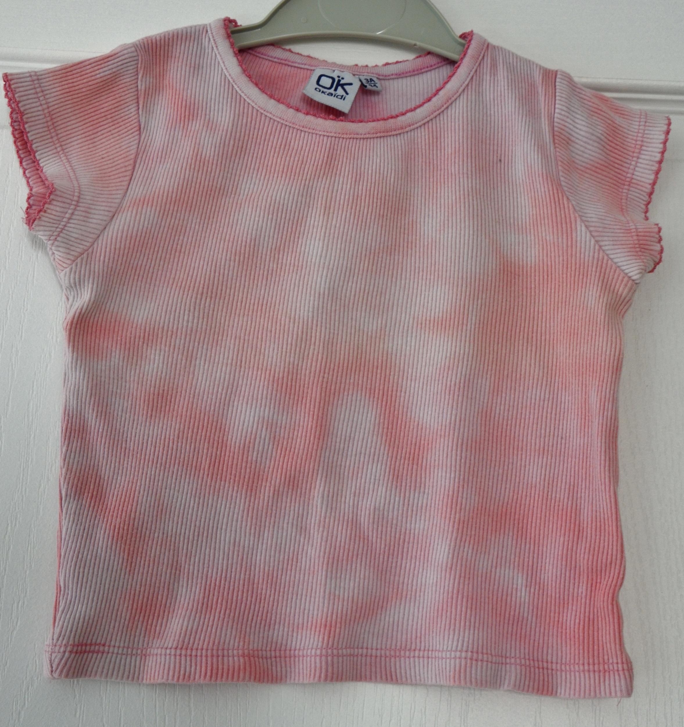 tee shirt manches courtes okaidi 3 ans