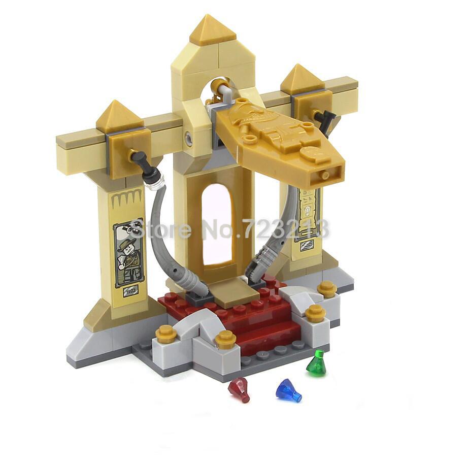 blocs de construction type lego pharaon 109 pièces Feleph
