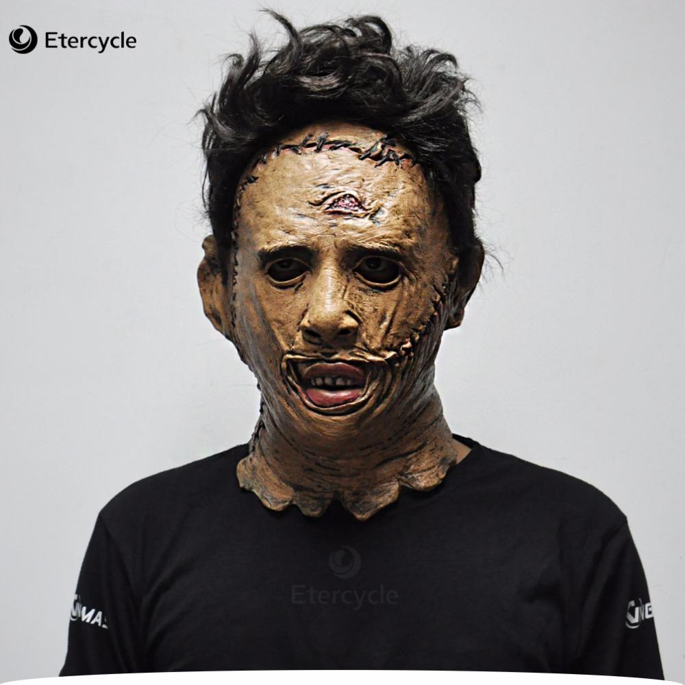 Masque halloween de luxe masque massacre à la tronçonneuse masque