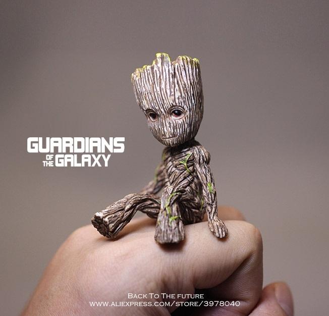 figurine groot les gardiens de la galaxie 6-10 cm
