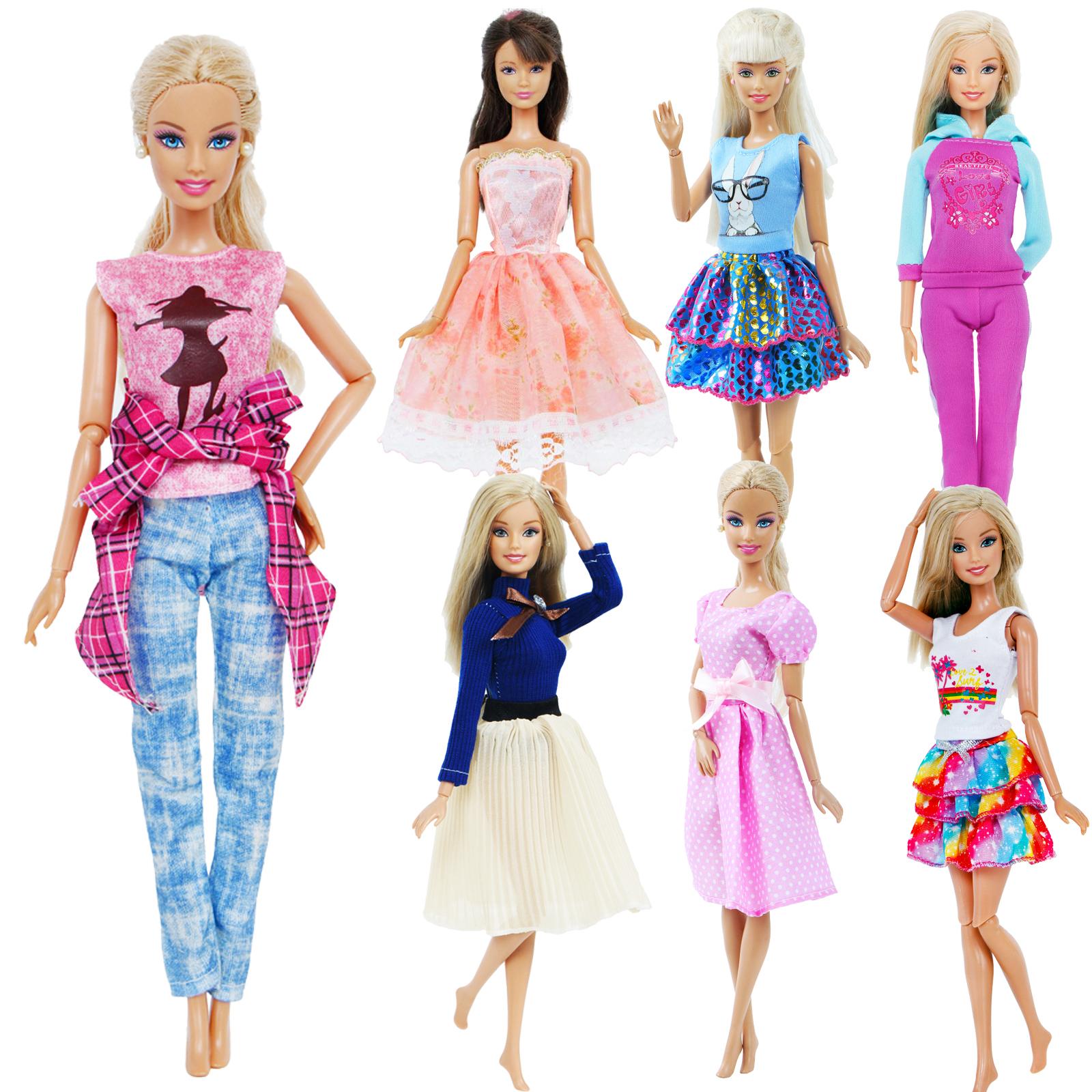 tenue décontractée bjdbus pour barbie