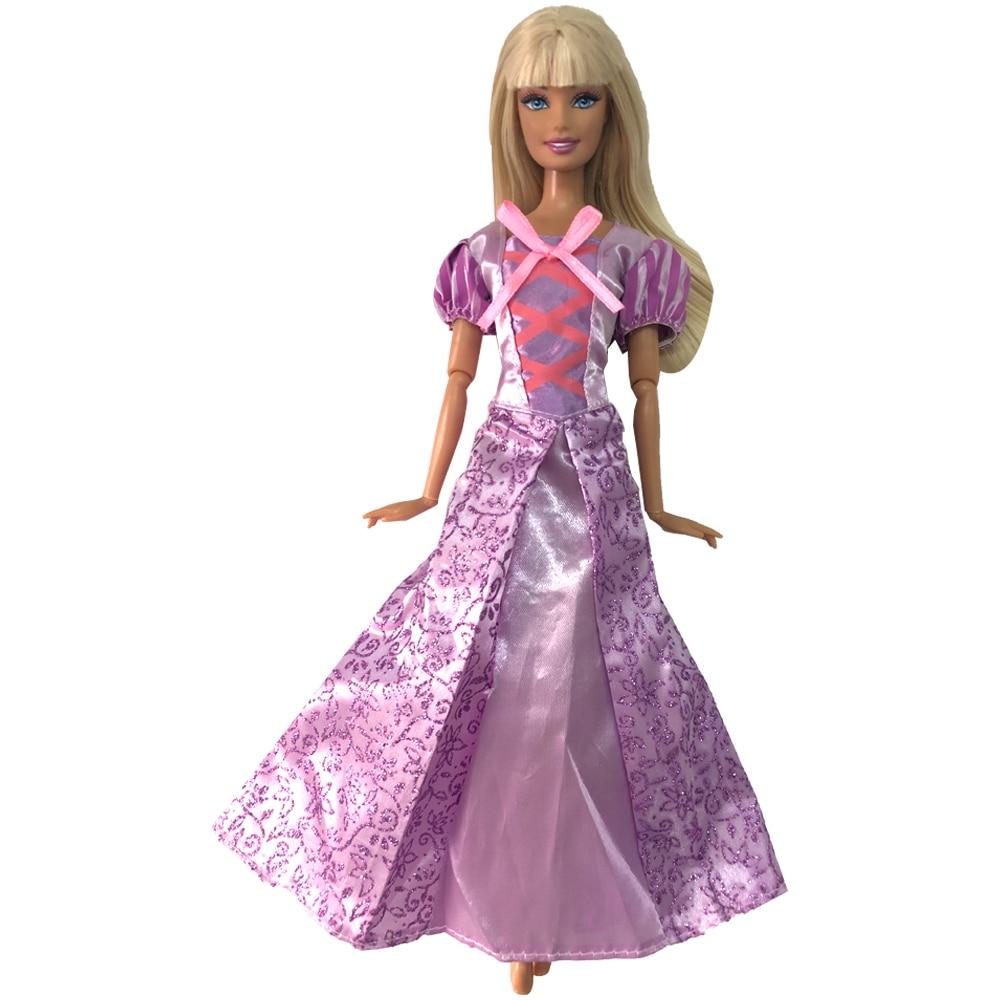 robe princesse raiponce pour barbie