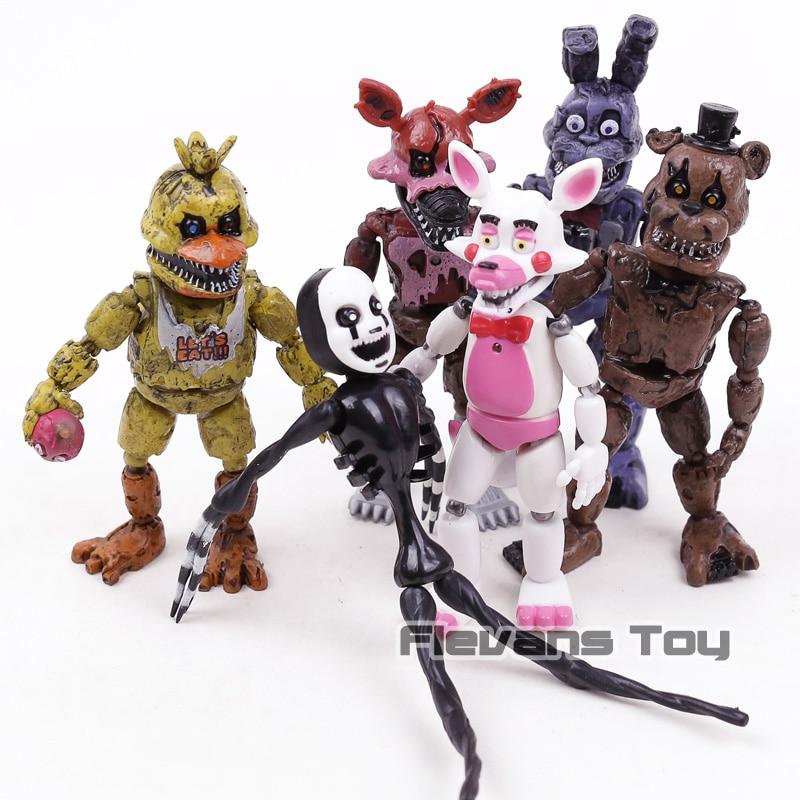 figurine five nigths fnaf 14 cm Flevans divers modèles