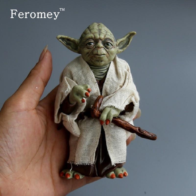 figurine star wars 12 cm yoda dark vador stormtrooper feromey