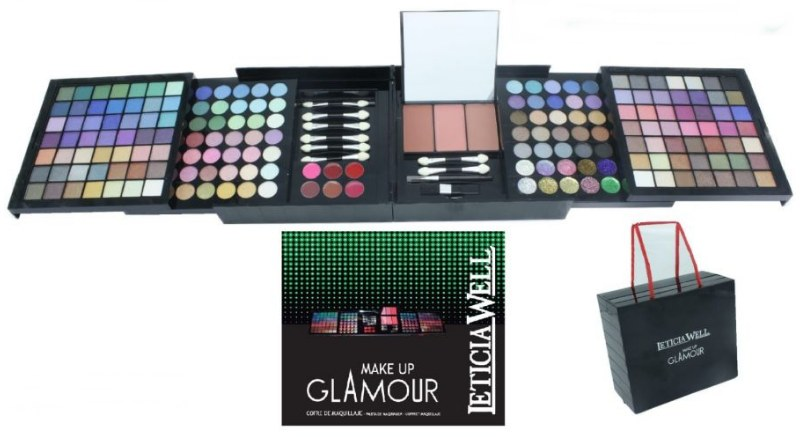 Palette de maquillage pas cher leticia well make up 50145