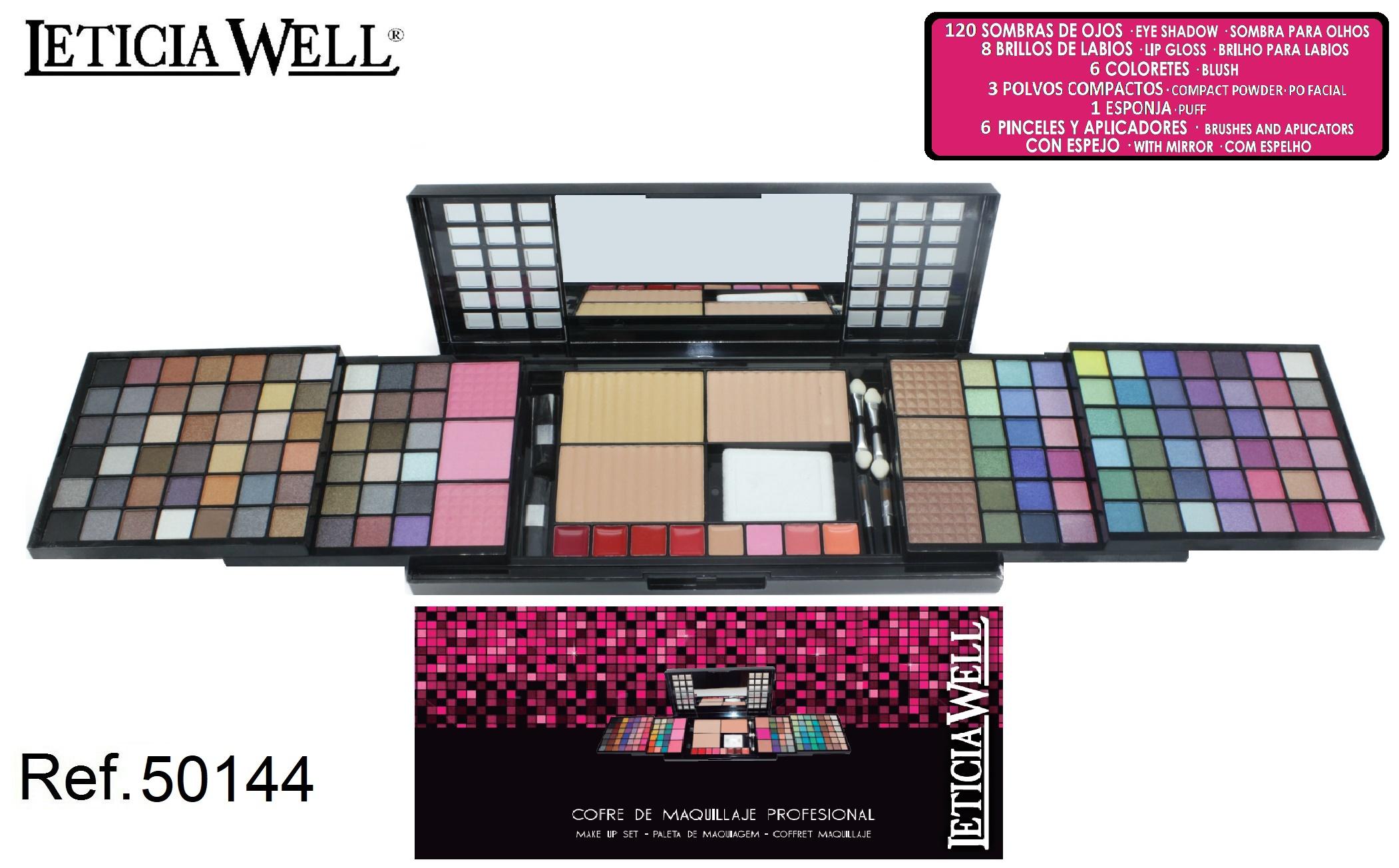 coffret de maquillage leticia well 50144