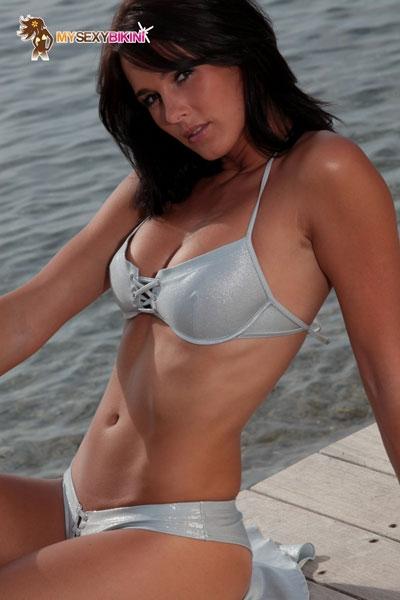 Maillot de bain sexy my sexy bikini Bahamas métallisé