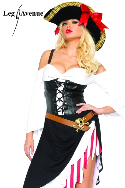 Costume sexy Pirate leg avenue