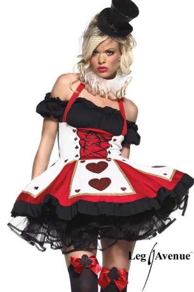 Costume Pretty playing Card leg avenue