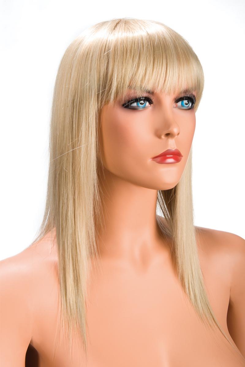 Magasin de perruque femme blonde Allison perruque synthétique