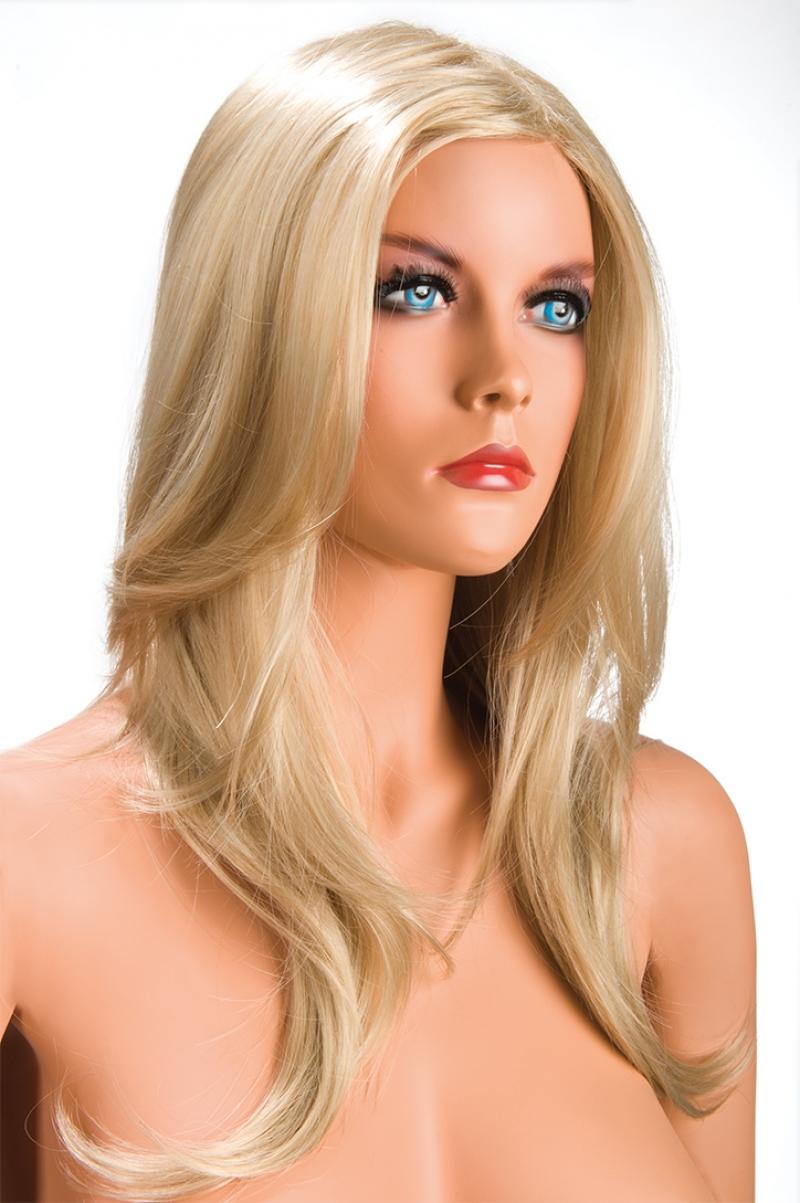 Magasin de perruque femme blonde Olivia perruque synthétique