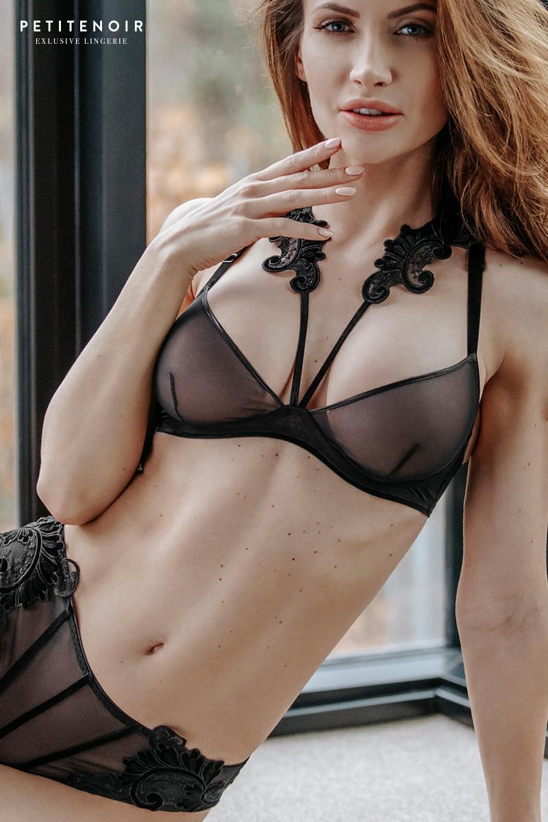 Soutien gorge armature soutien gorge tulle petite noir lingerie
