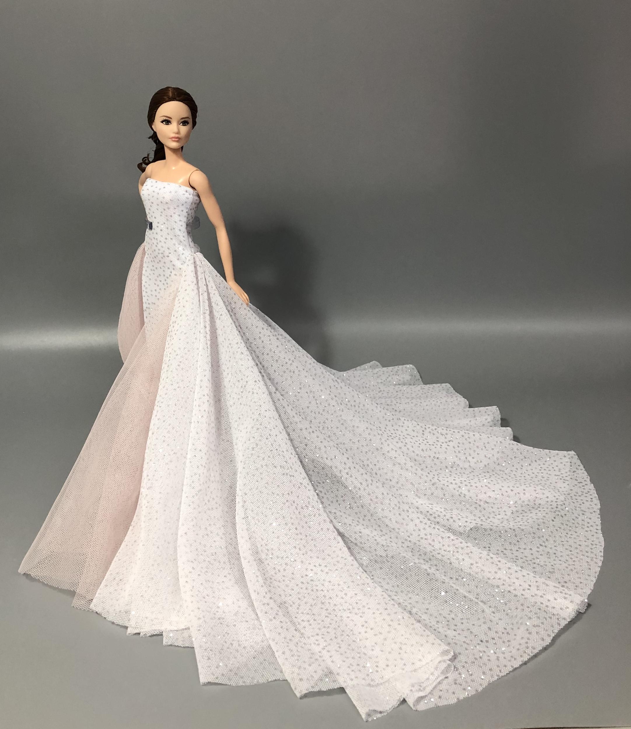 robe de barbie robe princesse pour barbie divers coloris