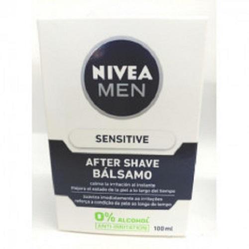 after shave sensitive nivea men 0% alcool anti irritation