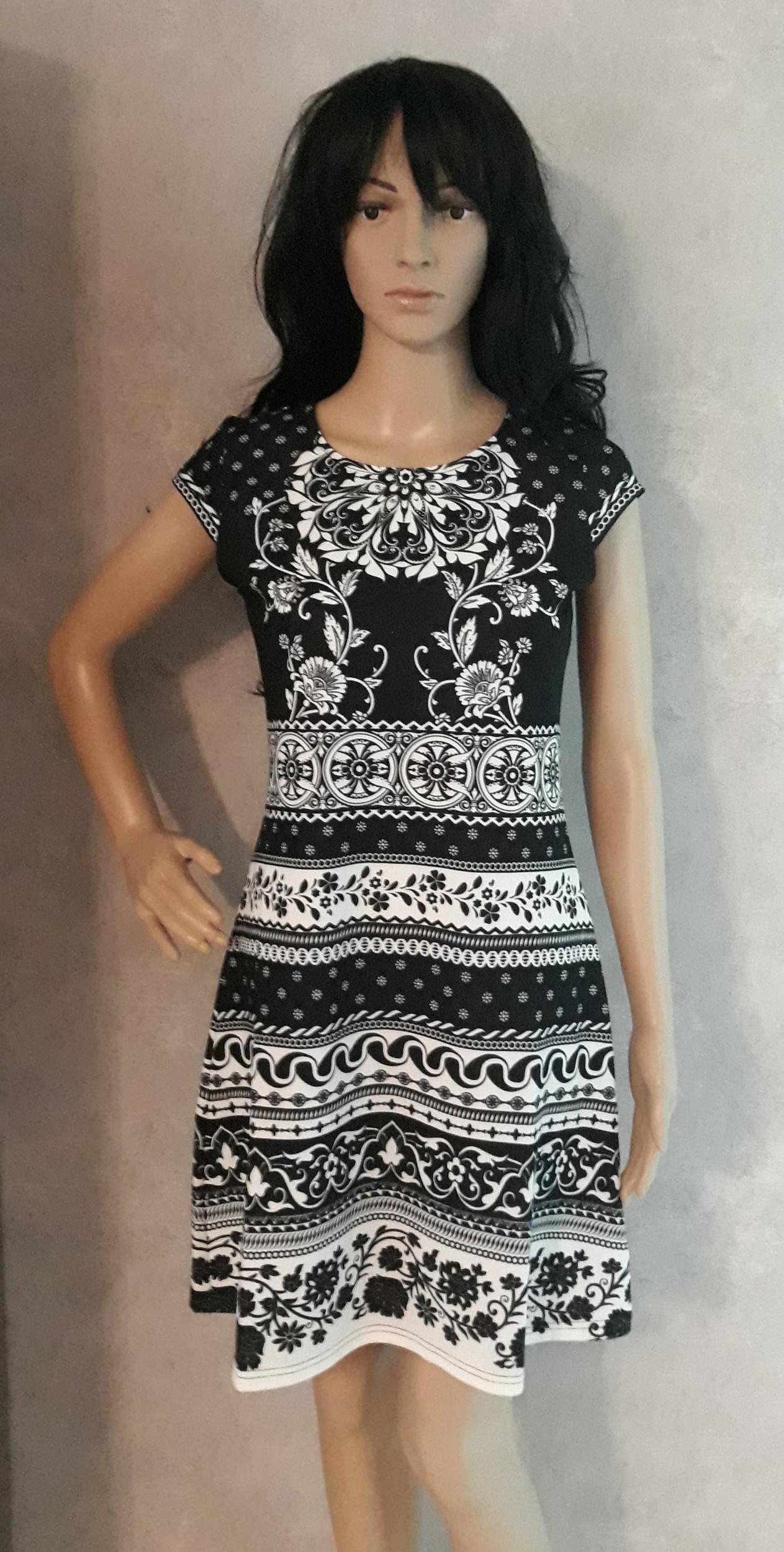 robe 101 idées femme bicolore a2303