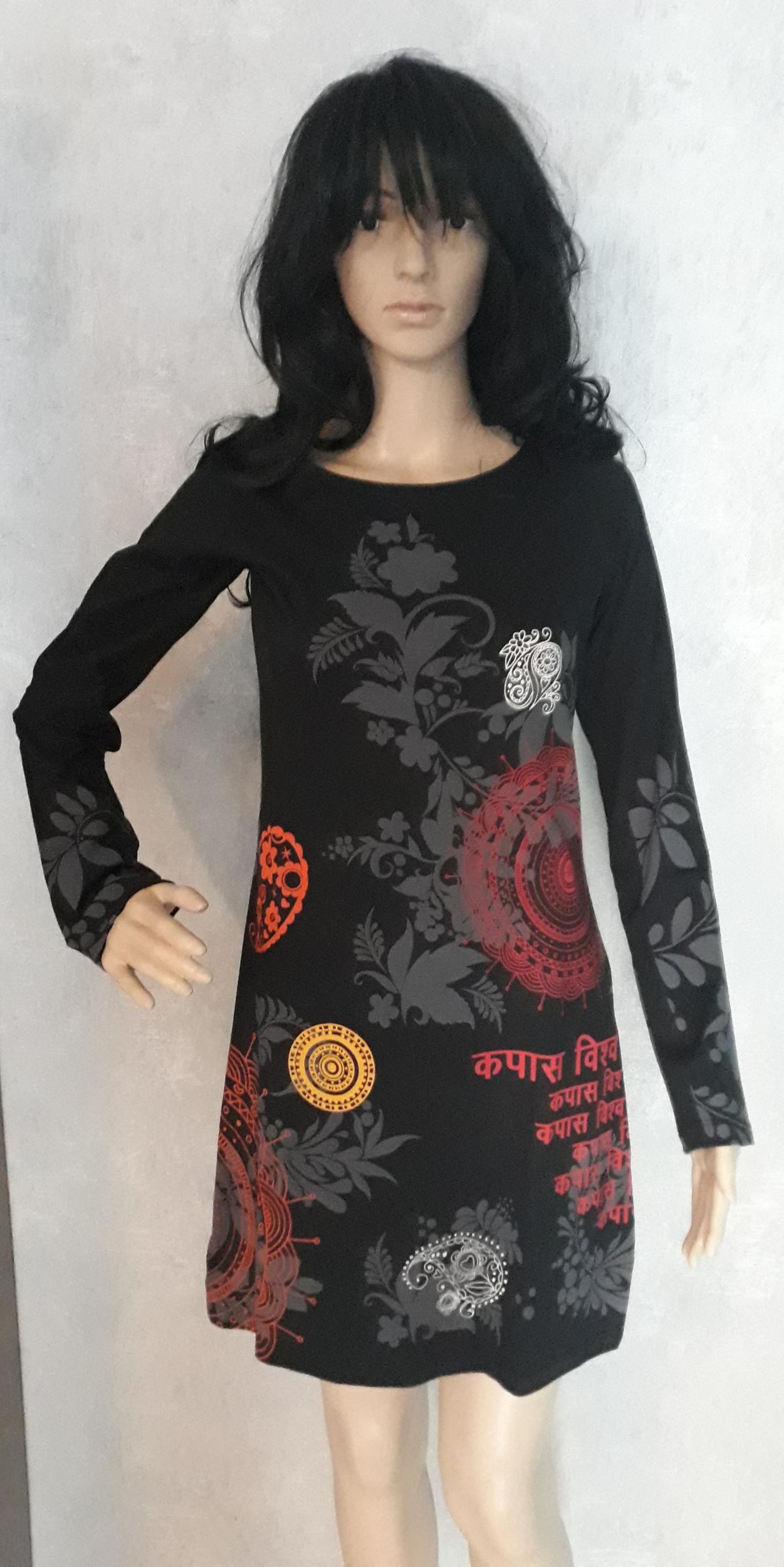 Robe Coton du Monde narcisse noir