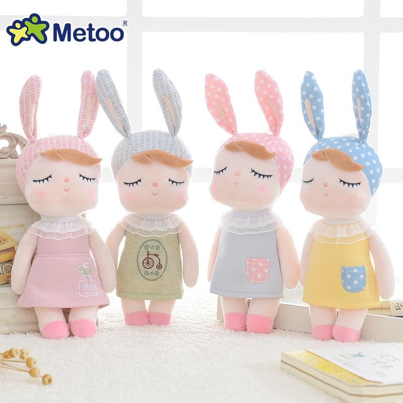 poupée angela lapin metoo 18 cm divers coloris