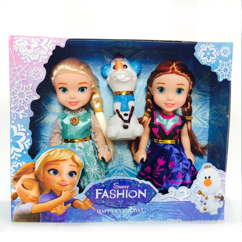 lot divers la reine des neiges 16 cm disney