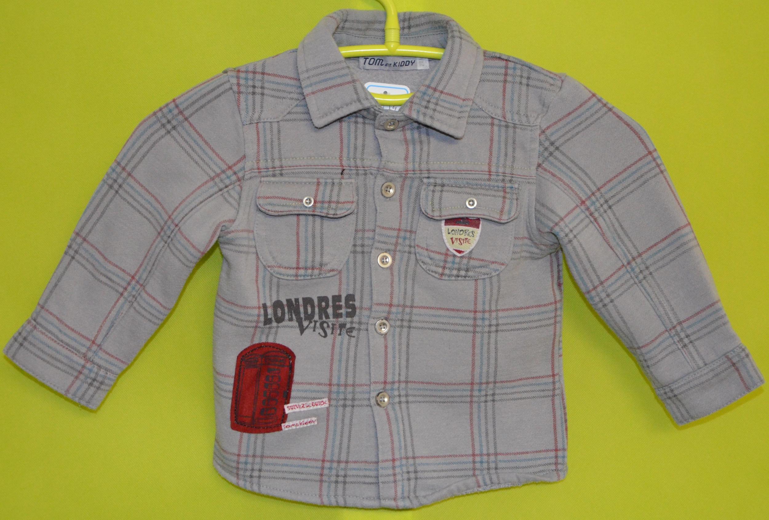 chemise tom et kiddy 24 mois