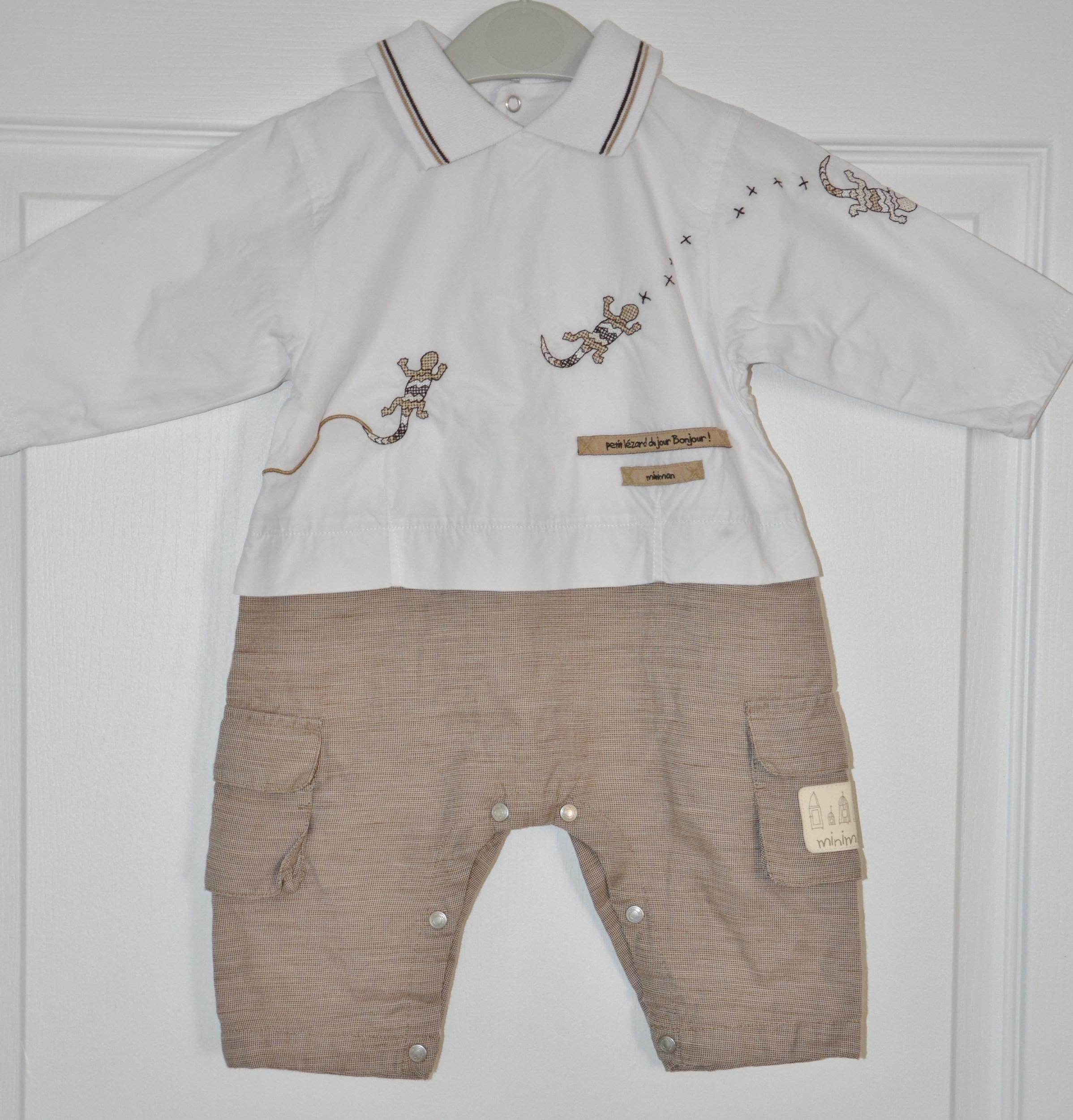 combishort garçon 6 mois mini man