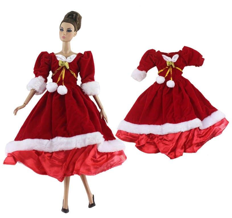 Barbie noel robe rouge NK fantastic fairyland