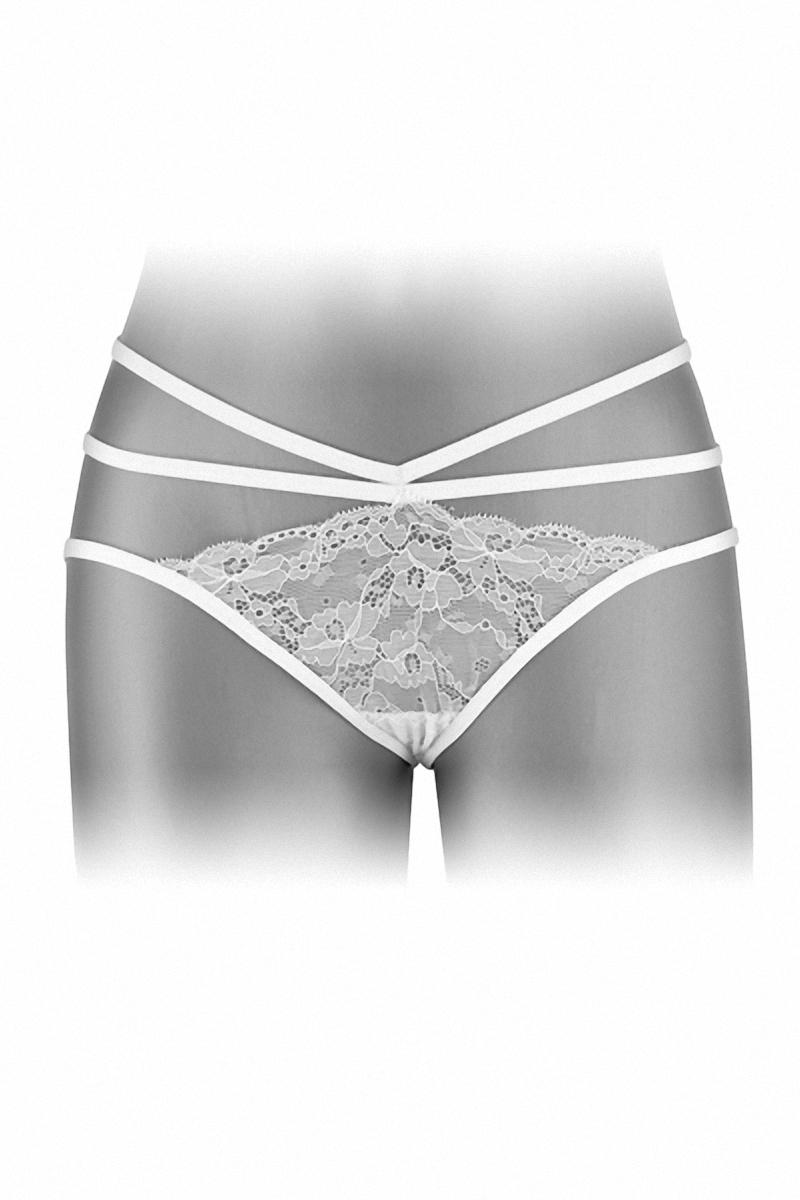 Culotte ouverte Nadia blanc fashion secret