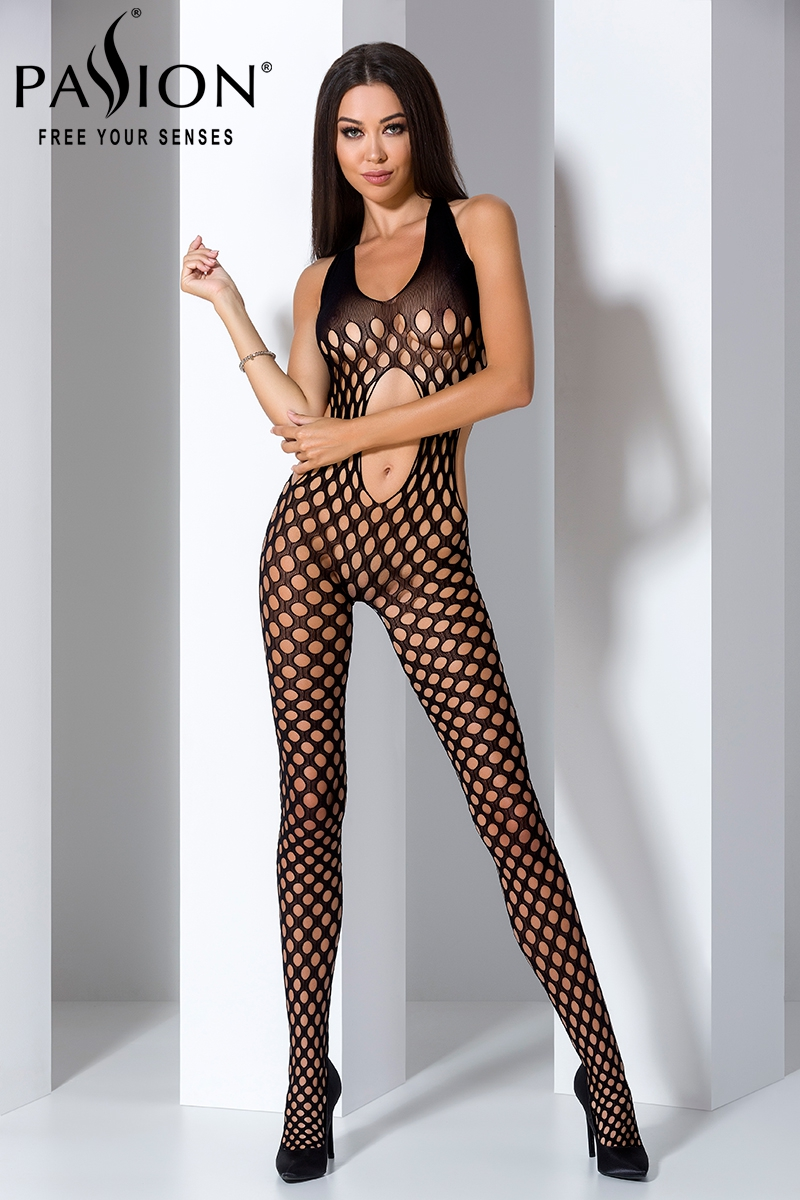 Combinaison sexy femme ouvert bodystocking Passion lingerie 16028