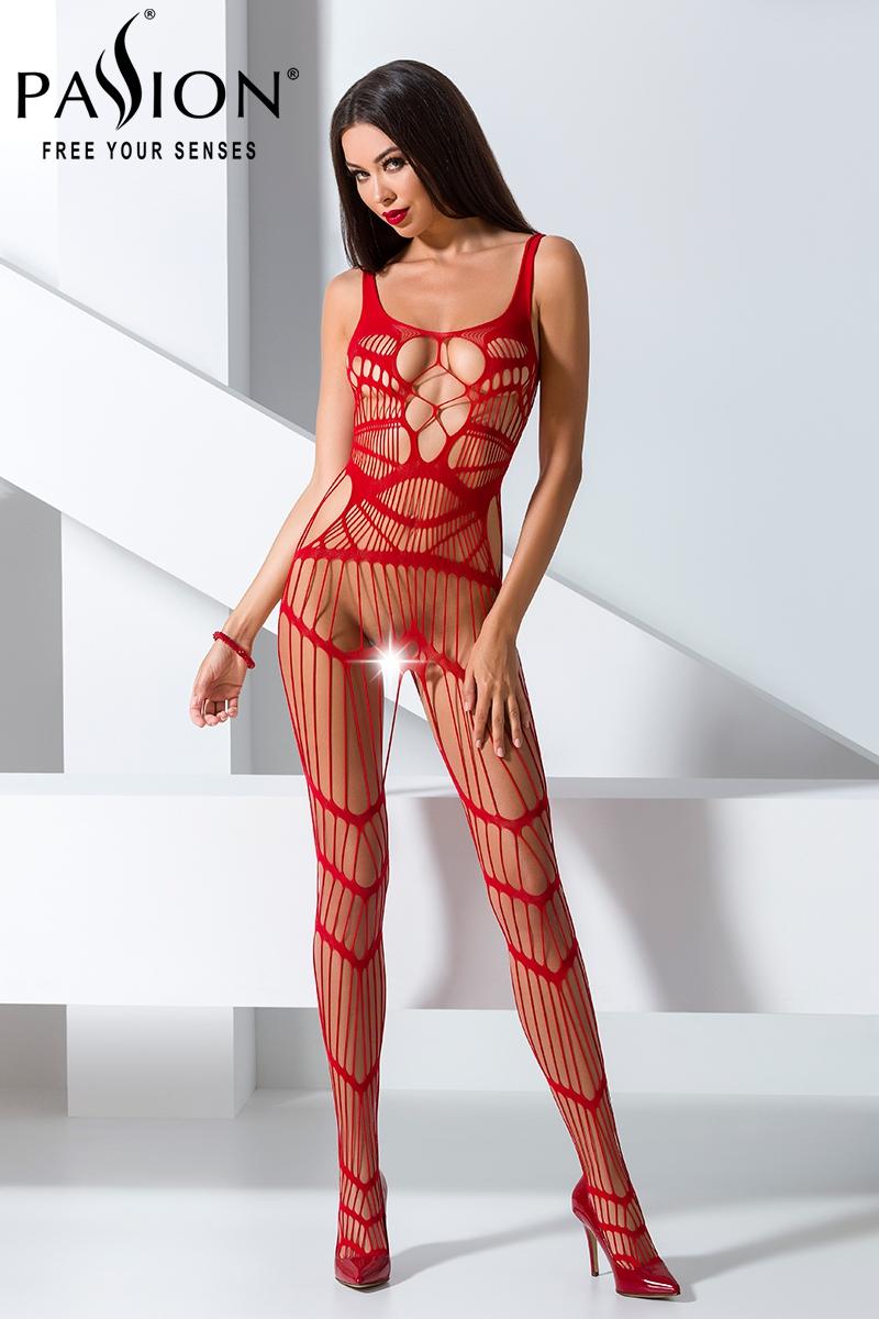 Combinaison sexy femme ouvert bodystocking Passion lingerie 16017