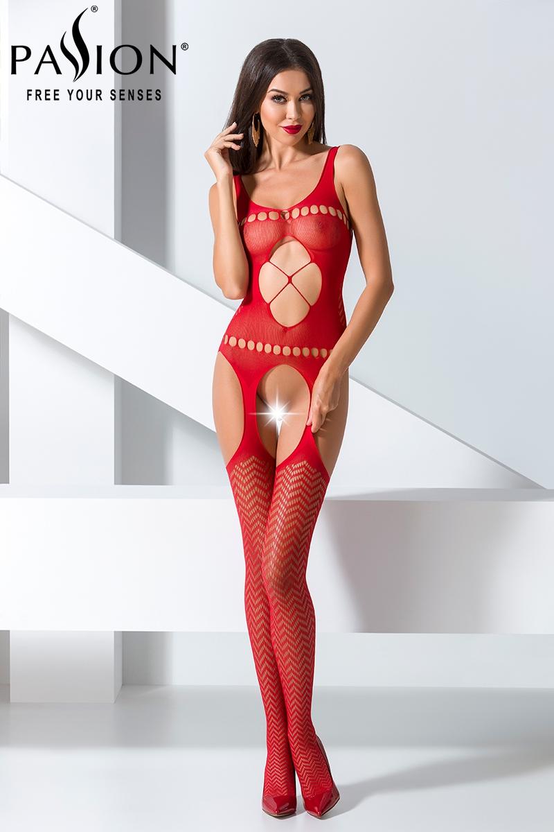 Combinaison sexy femme ouvert bodystocking Passion lingerie 16014