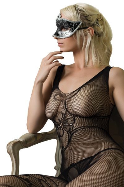 Combinaison resille sexy j&m n°6 bodystocking lingerie