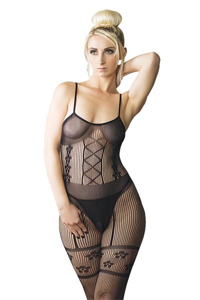 catsuit lingerie N°10 J&M noir 13237