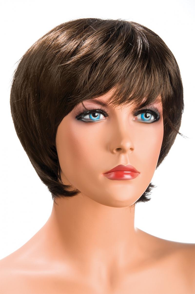 Magasin de perruque femme châtain Sofia perruque synthétique